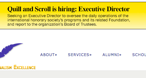 Long-standing journalism association looking for executive director