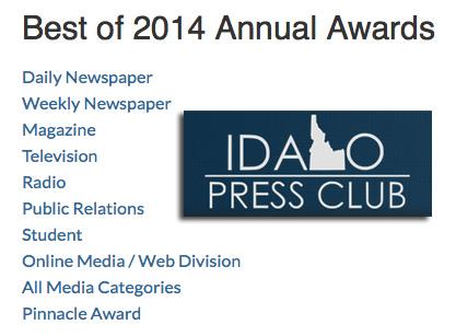 The best in Idaho journalism