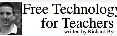 Blog site, Free Technology for Teachers, looks promising