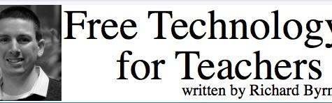 Free Technology for Teachers Blog Site