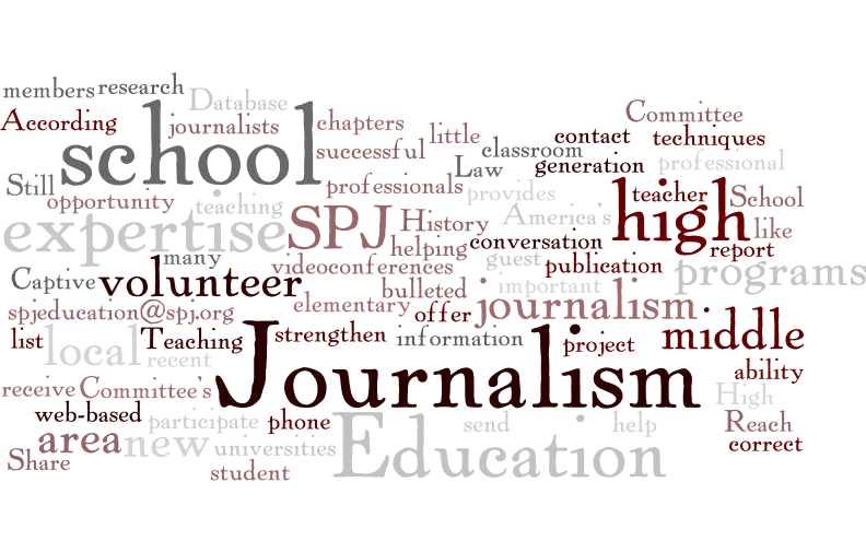 Society of Professional Journalists creates mentor database