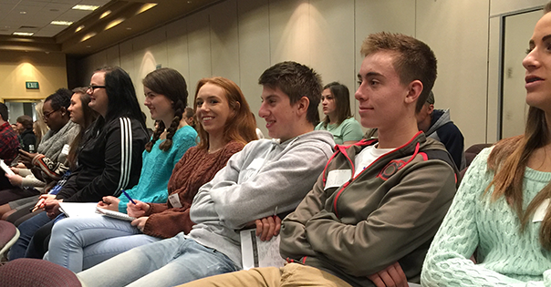 Students attended the annual Idaho Journalism Day in Boise to learn more about the JOY contest.